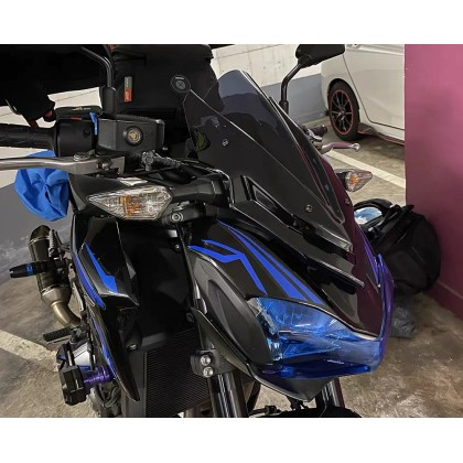 Z900 Windshield Deflector Double Bubble